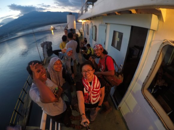 Ferry to Sumbawa