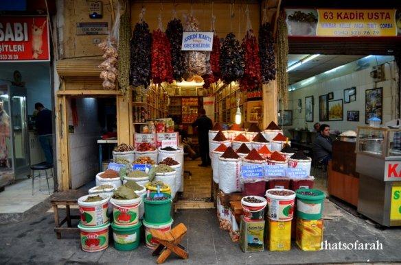 Urfa Spice Bazaar