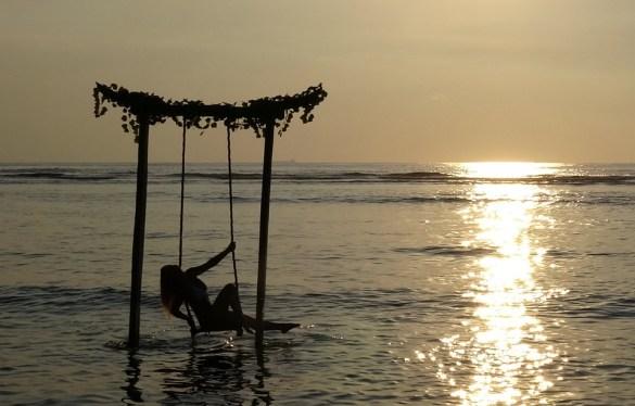 Sunset Swing Gili Trawangan