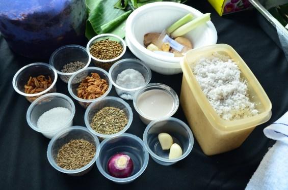 Lemper ingredients