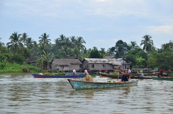 Lok Baintan Floating Market