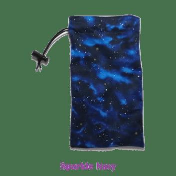 Drawstring Bag Sparkle Navy