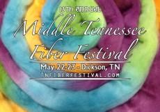 Middle TN Fiber Festival May 23-24, 2020