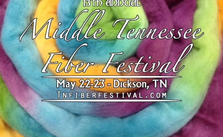 Middle TN Fiber Festival May 23-24, 2020