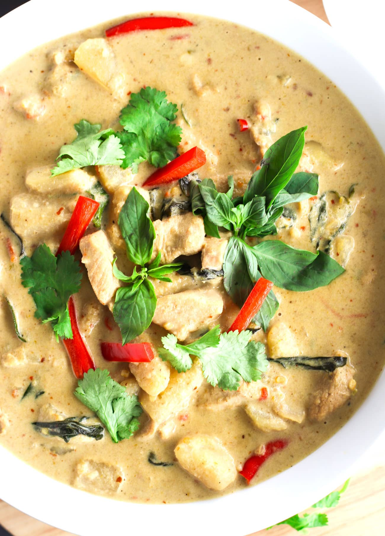 Easy Thai Green Chicken Curry That Spicy Chick