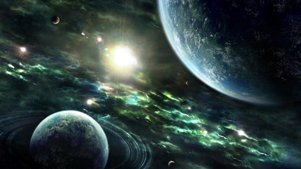 Space, Earth is only the beginning.