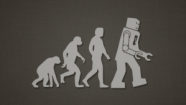 Evolution - human robots and cyborgs