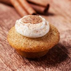 gluten-free-cinnamon cupcake