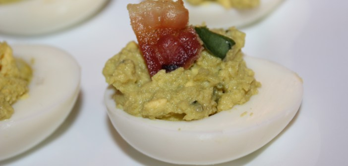 TSJ's Green (Deviled) Eggs and Ham *As Seen on the WPIX Morning Show*