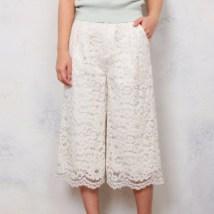 lace wide pants misch masch