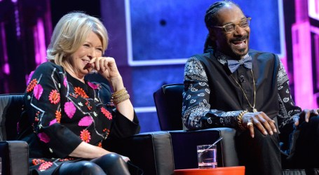 Martha Stewart & Snoop Dogg Are Finally Teaming Up For A Cooking Show