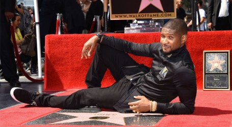 Usher Receives Star on Hollywood Walk of Fame