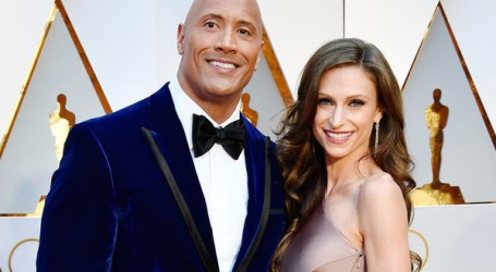 DWAYNE 'THE ROCK' JOHNSON IS EXPECTING SECOND CHILD WITH GIRLFRIEND.