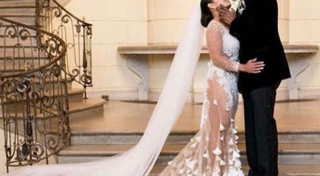 Brian McKnight gets married in lavish New Year's Eve ceremony