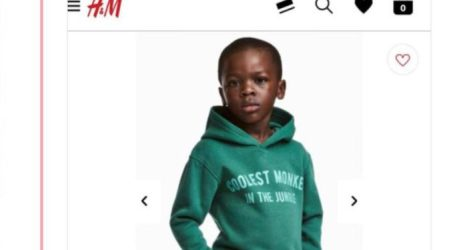 H&M Under Fire for 'Coolest Monkey in the Jungle' Hoodie