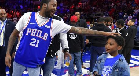 Meek Mill released from prison, attends Sixers' series-sealing Game 5 victory