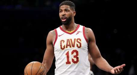 Tristan Thompson Benched in NBA Playoff Game Amid Khloe Kardashian Cheating Scandal