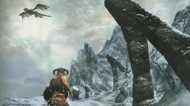 Skyrim in-game screenshot