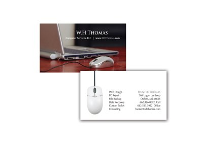 W.H. Thomas Computer Services, LLC cards