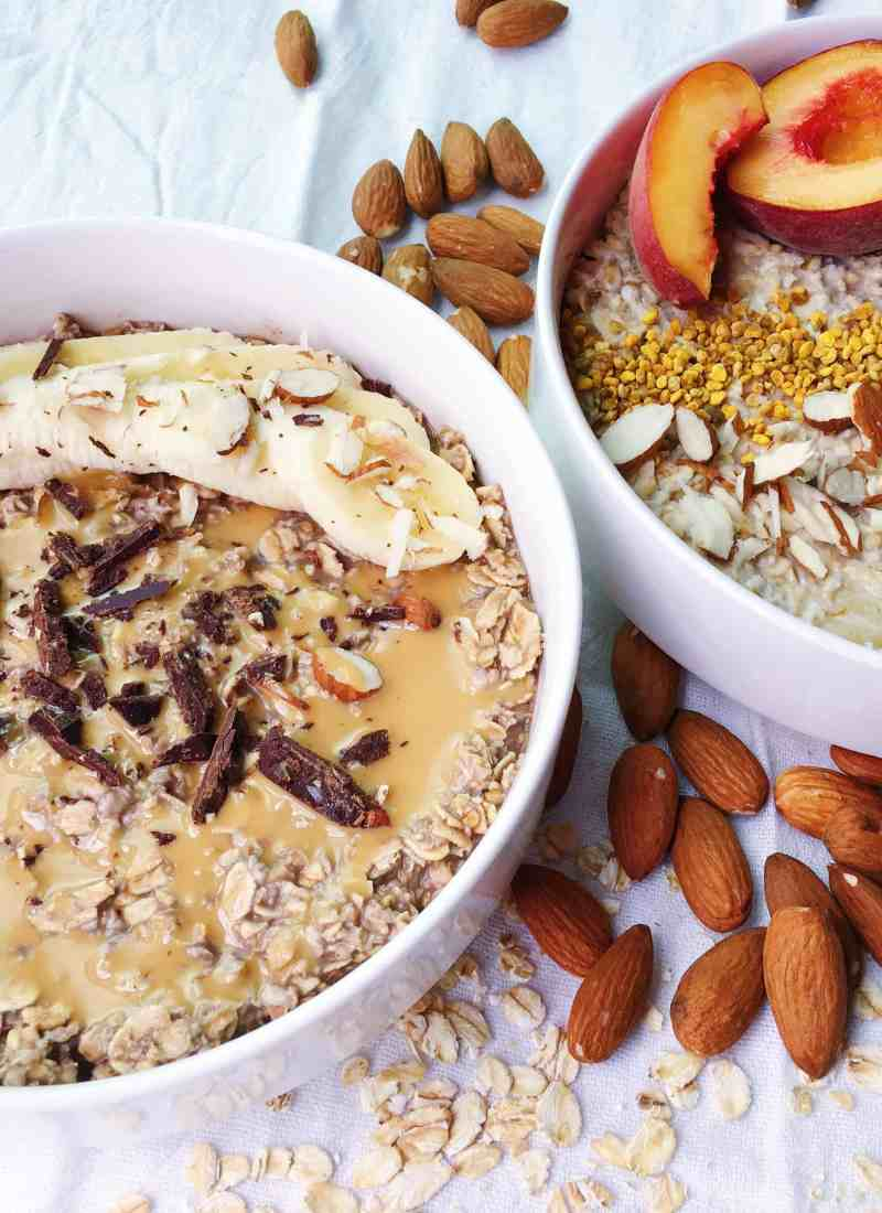 Overnight Oats, Two Ways.