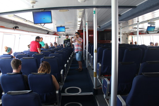The Colonia Express ferry service