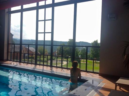 Hotel Azur en Ardenne has got a nice swimmingpool