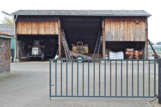 A typical Dutch barn