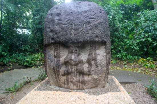 The young Olmec warrior