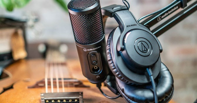 Audio-Technica Creator Pack; Make Art Like Us 7