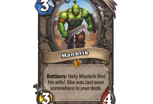 Find Mankrik's Wife In Hearthstone's Forged In The Barrens Expansion 3