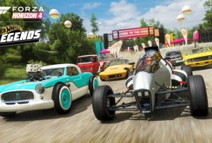Forza Horizon 4 Racing To Steam In March, Hot Wheels Pack On The Way 2