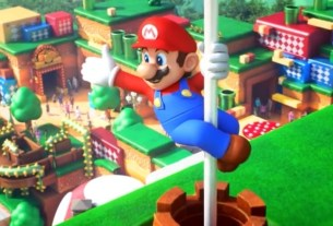 Here's a full video ride-through of Super Nintendo World's chaotic Mario Kart ride 4