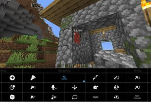 Minecraft eye-tracking software Eyemind receives major V2 update SpecialEffect EyeMine V2 software in action as user uses new Dwell building feature 2