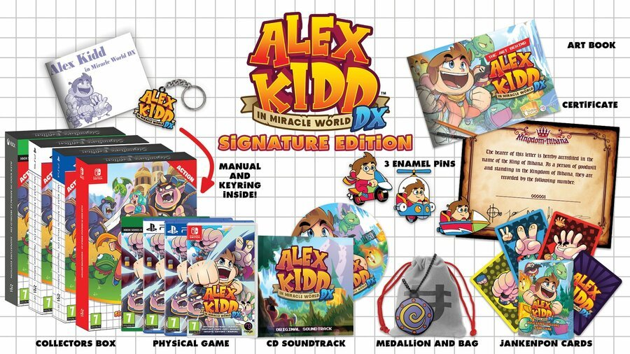 Alex Kidd in Miracle World DX Lands In June, Along With An Awesome Signature Edition 1