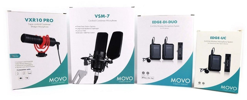 Hear About The MOVO Microphone Round Up? 1