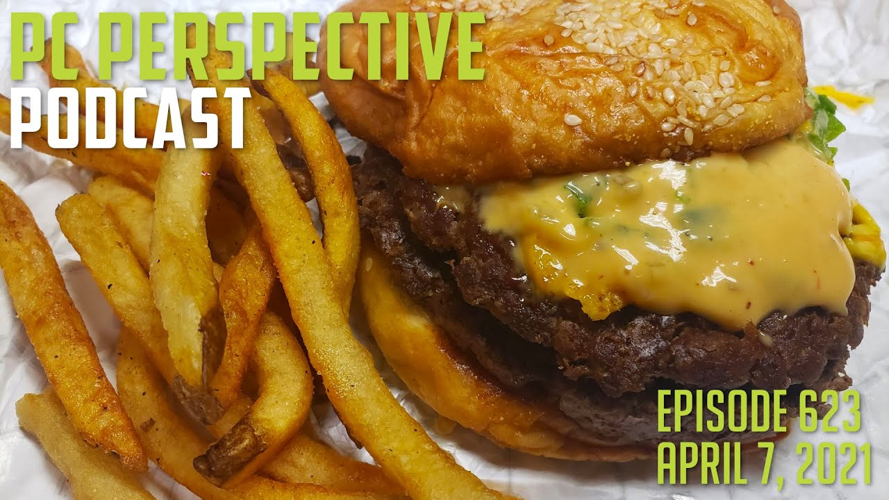 Podcast #623 – Burgers are back. Zen 3 and QNAP Security, Right 2 Repair, AMD 6800 XT Black, RTX Voice + MoRe!! 1