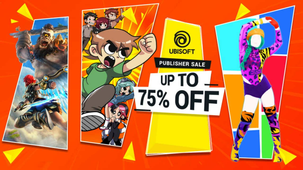Ubisoft's 'Irresistible Deals' Event On Switch Ends Soon, Up To 75% Off (North America) 1