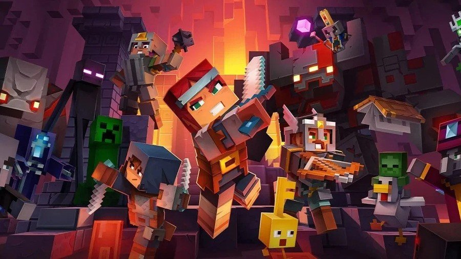 Cloud Save Support Is Now Available In Minecraft Dungeons 1