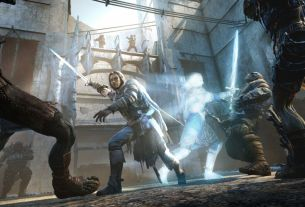 Former Shadow of Mordor studio head is making an open-world adventure game with EA Shadow of War mid-fight 4