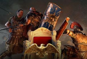 Paradox ceases work on Imperator: Rome temporarily, won't release anything for it this year An art image from video game Imperator: Rome of ancient warriors fighting over a throne 4