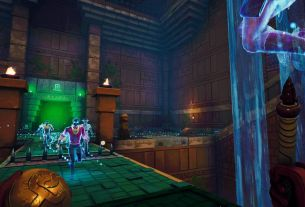 Phantom Abyss looks like a first-person Indiana Jones game with parkour Phantom Abyss 1