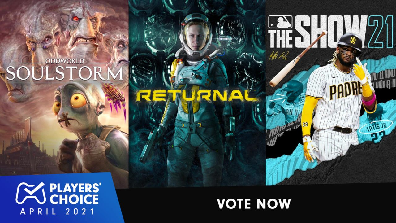Players' Choice: Vote for April's best new game 1
