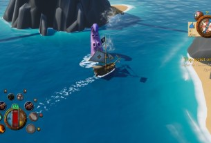 Prepare to Weigh Anchor with King of Seas 5