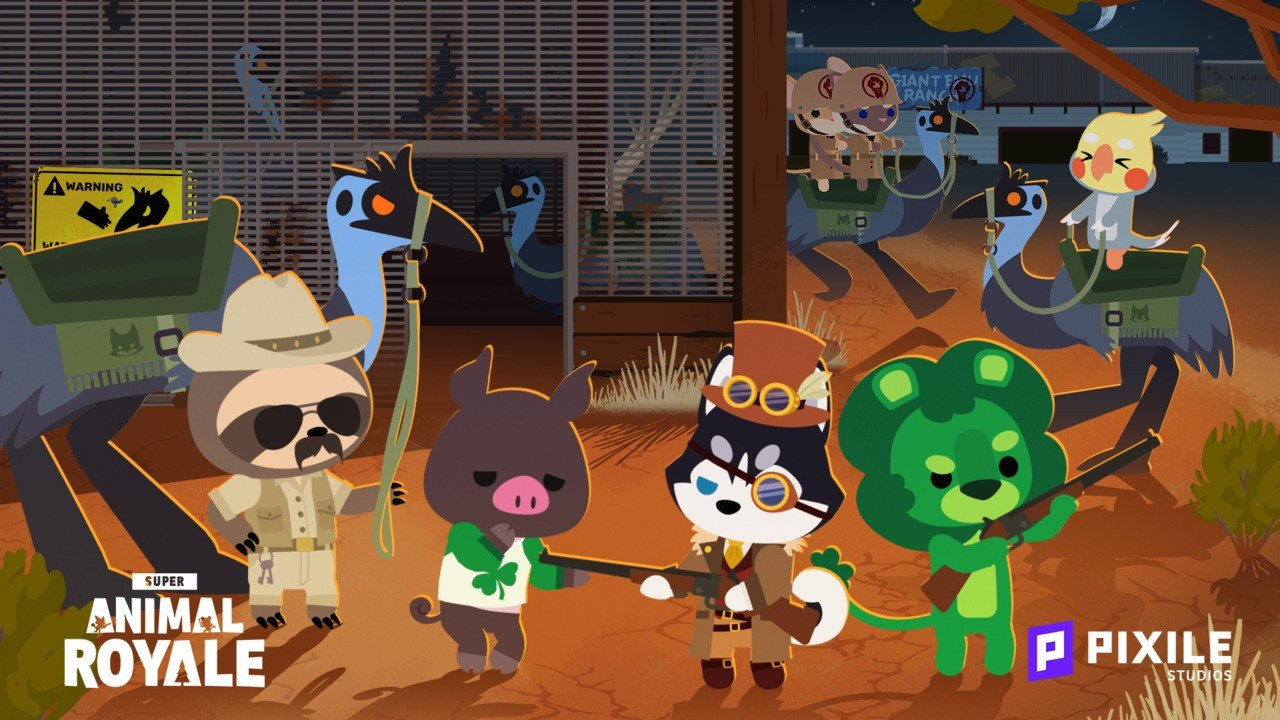 Super Animal Royale Is Parachuting Onto Switch Later This Year 1