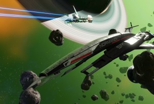 You can unlock Mass Effect's Normandy SR1 as a frigate in No Man's Sky for a limited time 3