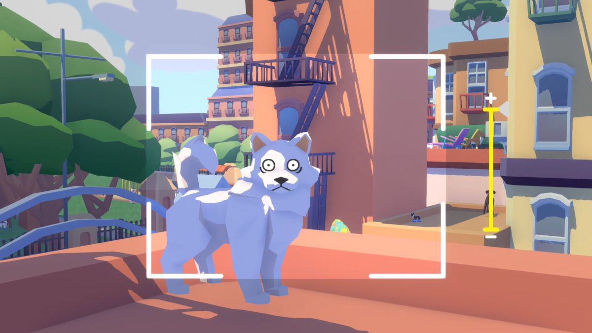E3's indie trailer montages could feel overwhelming, but devs say they worked A startled dog being photographed 1