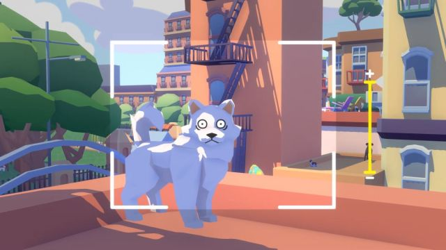 E3's indie trailer montages could feel overwhelming, but devs say they worked A startled dog being photographed 2