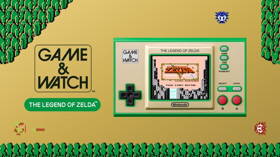 Guide: Where To Pre-Order Game & Watch: The Legend of Zelda 1