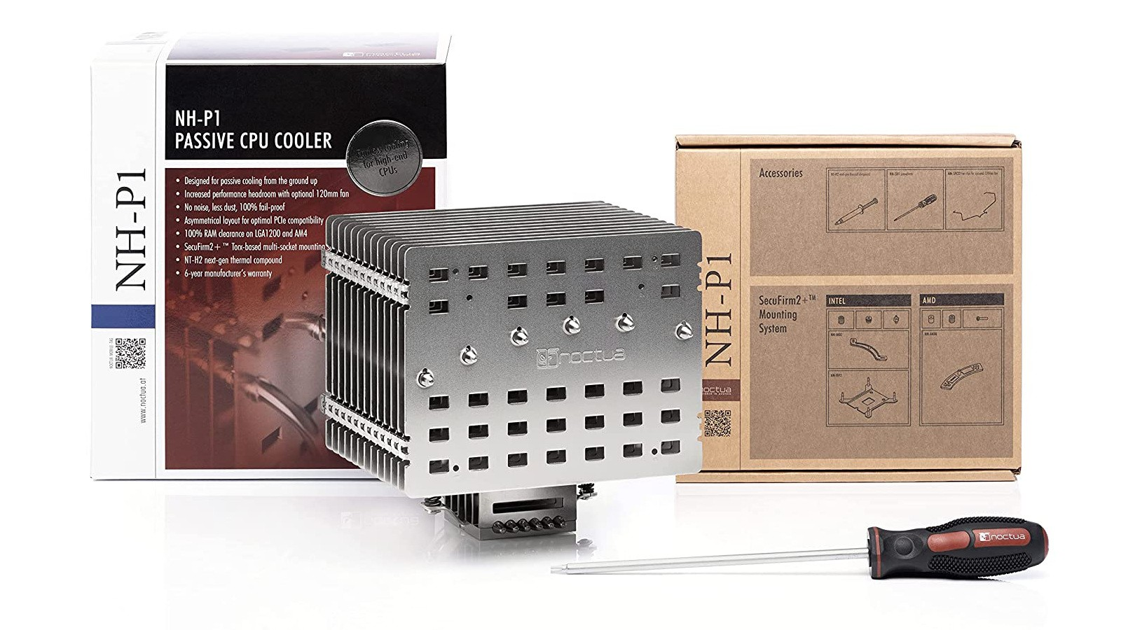 Noctua NH-P1 Fanless CPU Cooler Officially Available Today 9