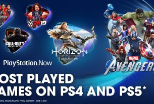 PlayStation Now: most-played games in Spring 3